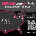 SoccerGrlProbs is a special guest for EXACT Soccer's ID Camps